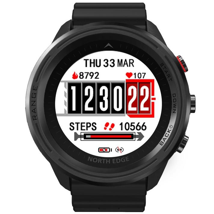 Смарт годинник North Edge Smart Range 10BAR Black
