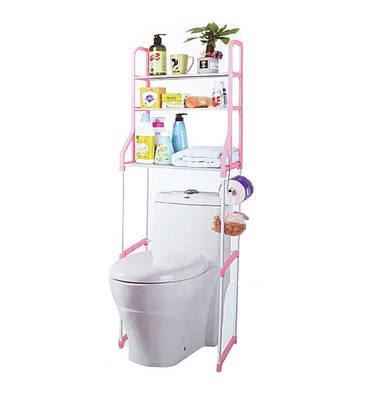 Органайзер для ванной на две полки Ukc Розовая 184669