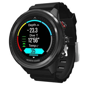 North Edge Смарт часы North Edge Smart Range 10BAR Black