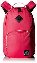 Рюкзак городской New Balance красный оригинал Нью Баланс США с карманом для ноутбука отличное качество