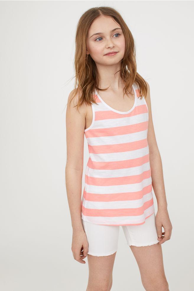 Майка летняя H&M оригинал EUR 158 164 женская XS S детская 12 13 14 лет