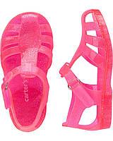 Сандалии jelly розовые Carters EUR 22 23 24 25 26 босоножки силикон ароматизиров запахом клубники оригинал 22