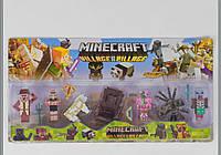 Набор фигурок Майнкрафт Minecraft герои 5 видов P 19530