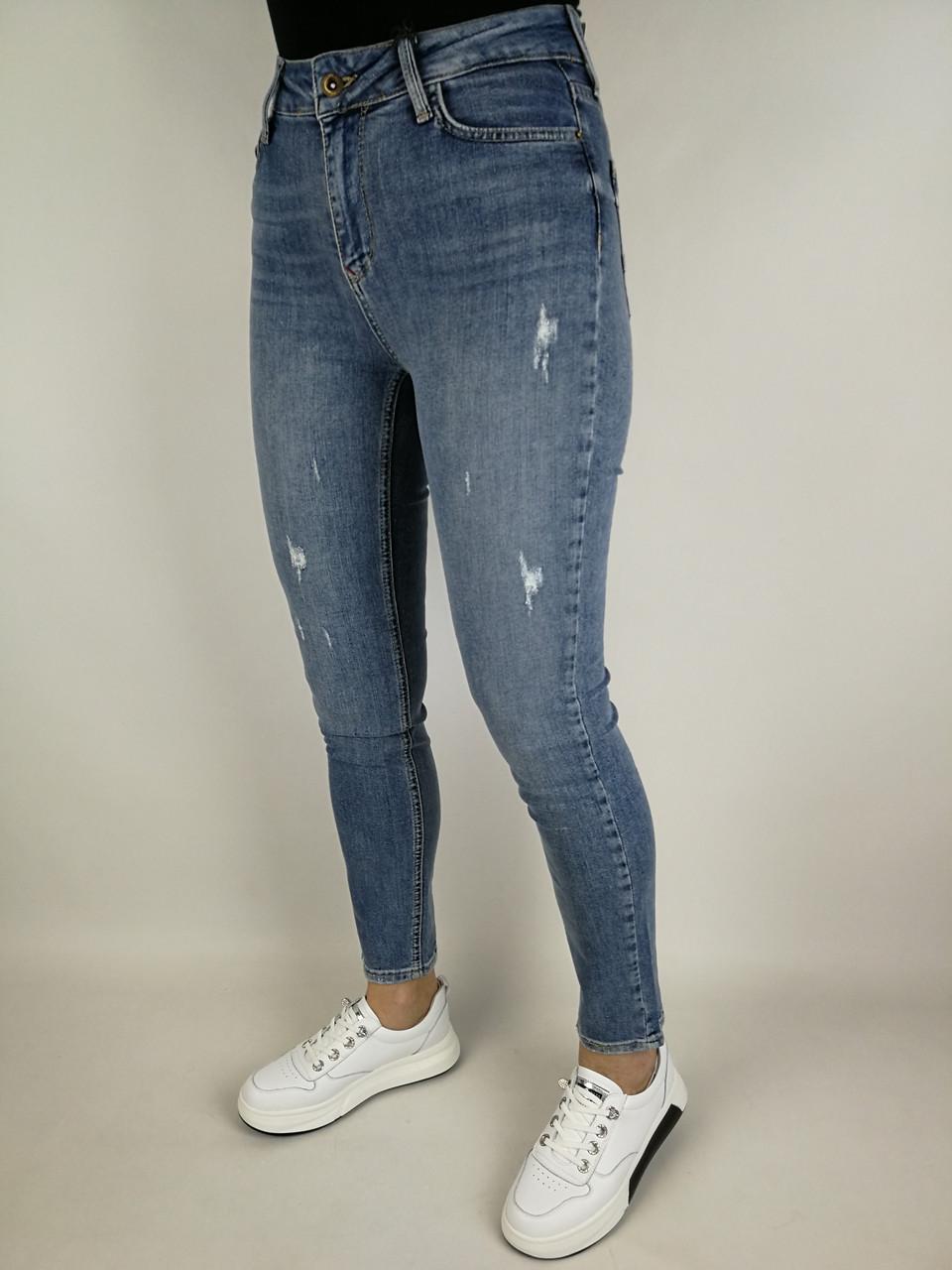 Жіночі джинси з високою посадкою