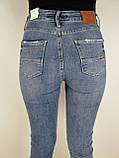 Жіночі джинси з високою посадкою, фото 3