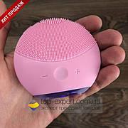 Электрическая щетка для очищения лица форео луна мини 2 силиконовая щеточка умывания foreo luna mini 2