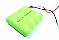 Ni-Cd аккумулятор – надежный помощник в питании техники, 4,8В 1000мАч