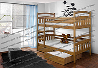 Двухъярусные кровати Деонис-Люкс