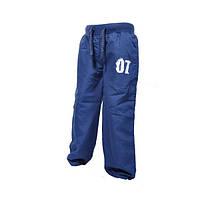 Штаны спортивные на х/б подкладке для мальчика  р. 86 ТМ Pidilidi-Bugga (Чехия)