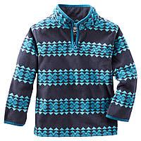 Флисовый пуловер Oshkosh мальчикам; 3 года