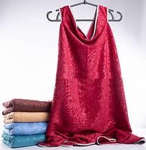Полотенце-халат на кнопках Розы