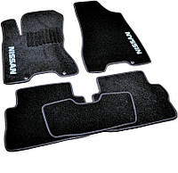 Коврики в салон ворсовые для Nissan X-Trail T31 (2007-2014) /Чёрные, кт. 5шт BLCCR1433, фото 1