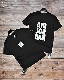 Мужская спортивная футболка черная