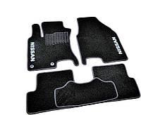 Коврики в салон ворсовые для Nissan Qashqai (2007-2013) /Чёрные, кт. 5шт, KE745JD031CS, BLCCR1424, фото 1