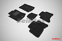 Коврики в салон 3D для Lexus GX 460 2009- /Черные 5шт 85978