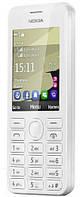 Мобильный телефон Nokia 206 Asha Dual Sim White UCRF (гарантия 12 мес)