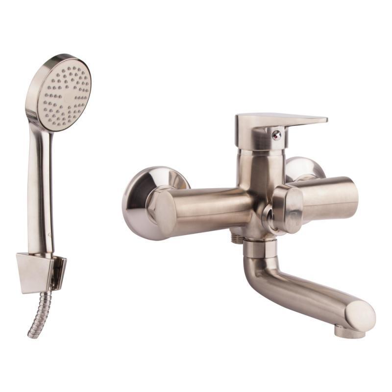 Змішувач для ванни, короткий ніс GF (NKS)/S - 01-005BN