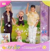 Кукла Принцесса Defa Lucy Счастливая семья, с аксессуарами