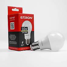 Лампа LED ETRON A60 10W 3000K 220V E27