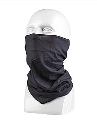 Баф шарф -труба чорний (мультифункціональний гольф)