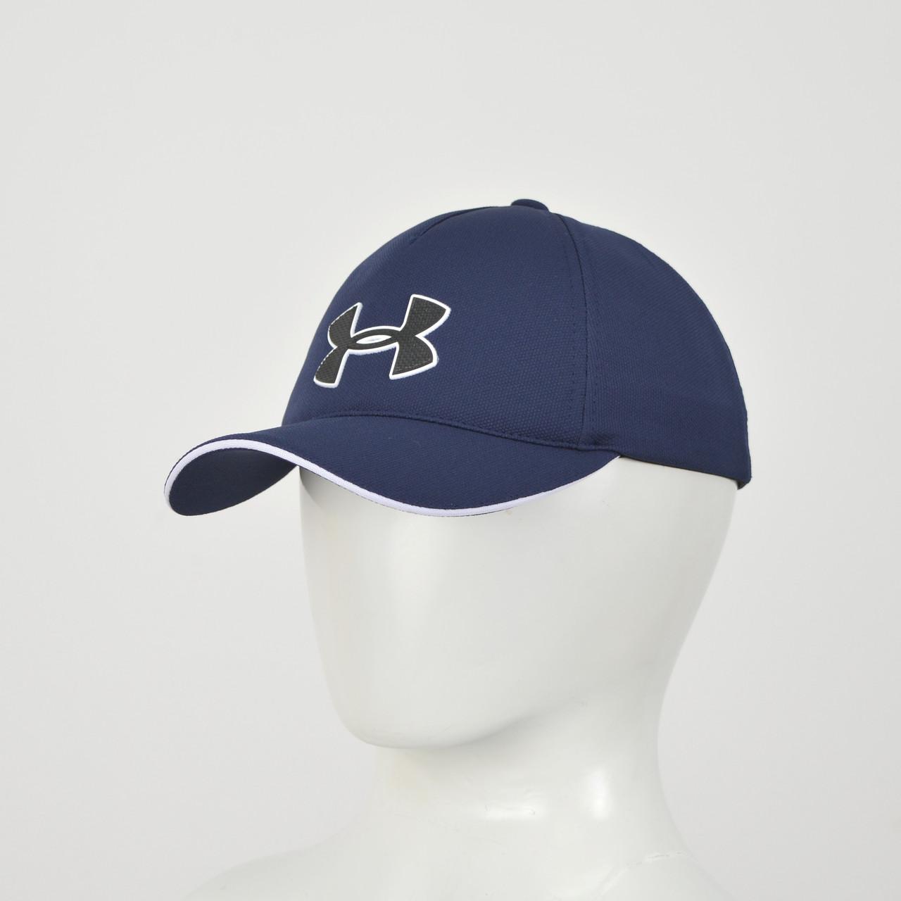 "Бейсболка ""Великий знак"" Лакоста (гума) Under синій"
