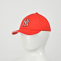 "Бейсболка ""Великий знак"" Лакоста (гума) NY червоний"