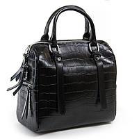 Сумка женская классическая кожа цвет черный 25*23*15см  ALEX RAI (03-01 2234 black)