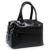 Сумка женская классическая цвет черный 32*22*15см, материал натуральная кожа ALEX RAI (03-01 P1532 black)