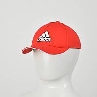 """Бейсболка """"Большой значек"""" Лакоста (резина) Adidas красный"""