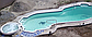 """Композитный бассейн """"Эден"""" 2,25х2,5х0,75 м, фото 4"""