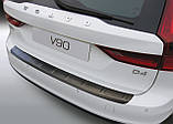 Пластиковая накладка на задний бампер для Volvo V90 9.2016+, фото 2