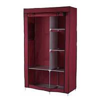 Шкаф складной каркасный тканевый 105х45х175 Storage Wardrobe 68105 149660