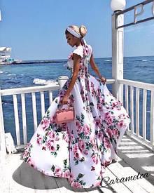 Платья макси длинные