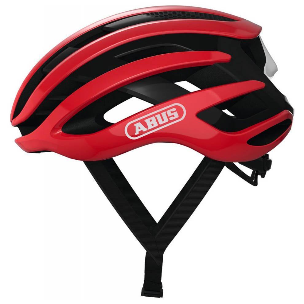 Шолом велосипедний ABUS AIRBREAKER M 52-58 Blaze Red