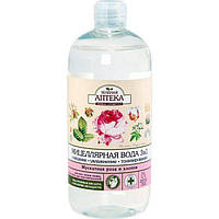 Мицеллярная вода Зеленая Аптека 3 в 1 Мускатная роза и хлопок 500 мл