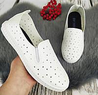 Жіночі мокасини СВ 1035 бел, фото 1