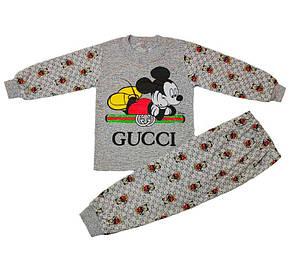 Дитяча піжама для хлопчика з малюнком Gucci кулір