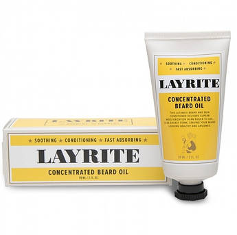 Концентрированное масло для бороды Layrite Concentrated Beard Oil 59мл