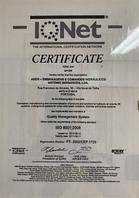 Міжнародний сертифікат Aber