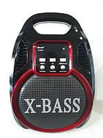 Колонка комбик Bluetooth mp3 радиомикрофон пульт цветомузыка Golon RX-820 BT