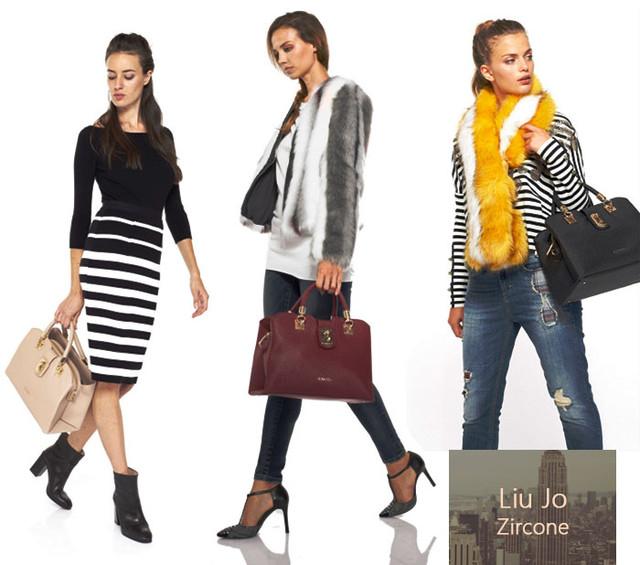 Девушки с сумкой-шоппер Liu Jo Zircone