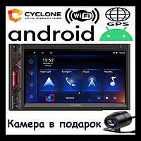 Автомагнитола 2 din android с навигацией CYCLONE MP-7088A