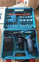 Аккумуляторный шуруповерт Makita DF330DWE 12V 2A/h Li-Ion Макита с набором инструментов