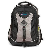 Рюкзак спортивний,міський (50х35х20см) нейлон Power In Eavas (8519) чорно-сірий, фото 1