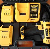 Аккумуляторный шуруповерт DeWALT DCD791 (24V, 4AH) с набором инструментов (26 ед.) Девольт