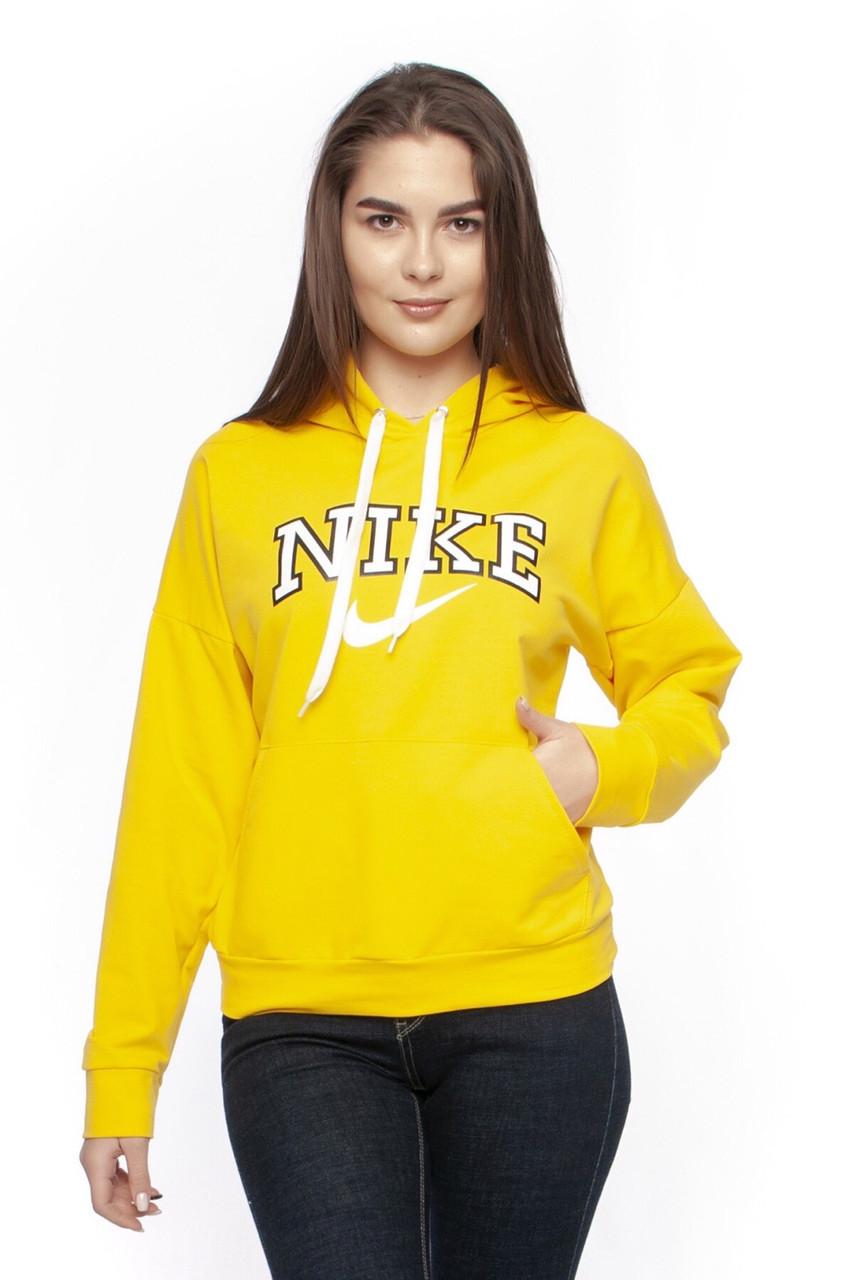 Кофта жіноча з капюшоном. Жовтого кольору. Топова модель!!!