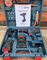 Ударный шуруповерт Bosch GSB 24-2LI 24V 5Ah Бош с набором инструментов