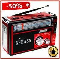 Акумуляторний радіоприймач з USB, SD/TF Golon RX-381 портативний багатофункціональний радіо з LED-ліхтариком