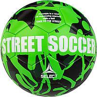 Мяч футбольный SELECT Street Soccer (103) зеленый, размер 4,5