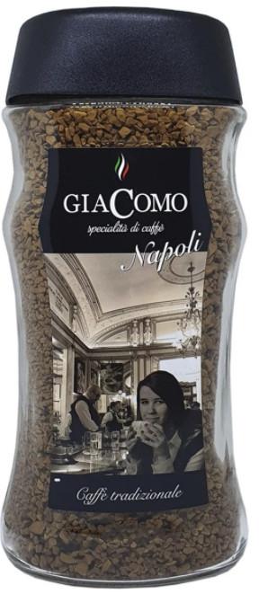 Кофе растворимый сублимированный GiaComo il Caffe Napoli 200 грамм